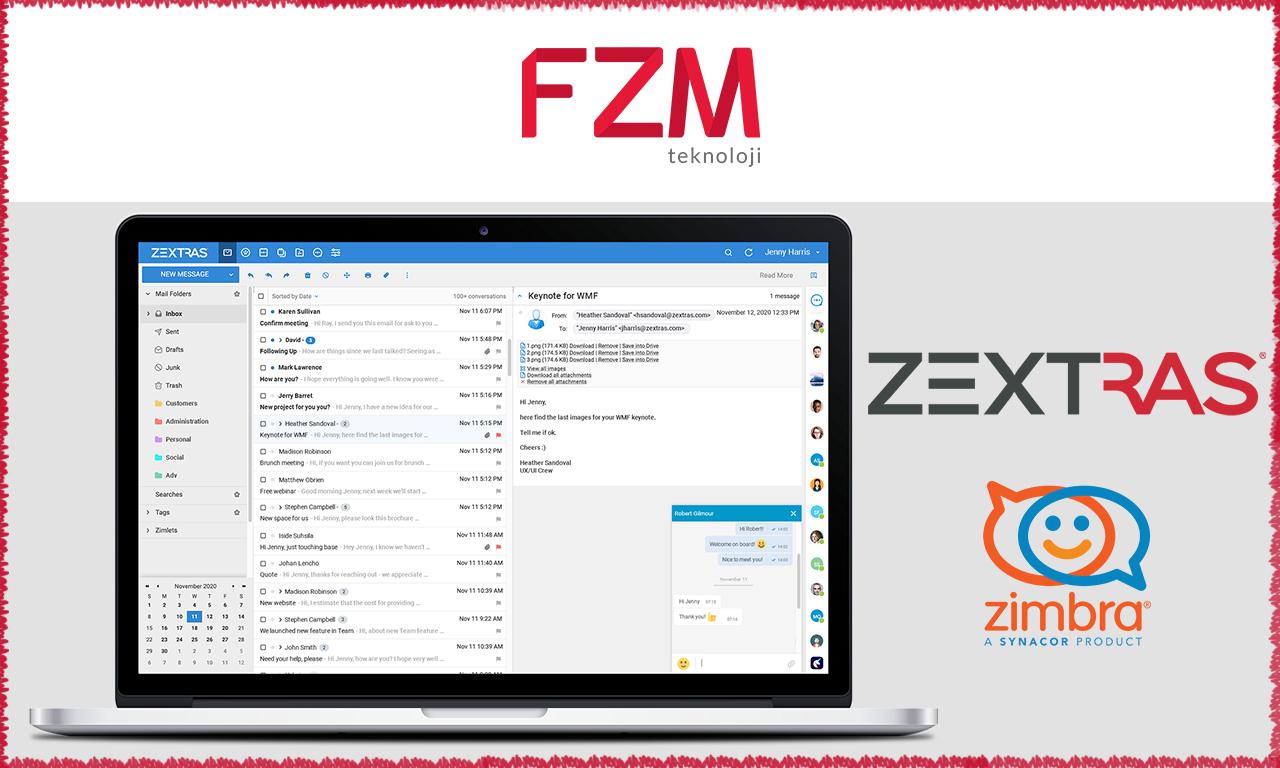 Zextras Türkiye Resmi Partneri