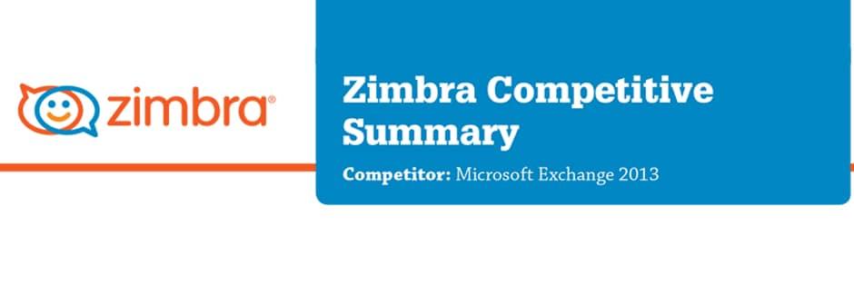 Zimbra vs Microsoft Exchange 2013 Karşılaştırması
