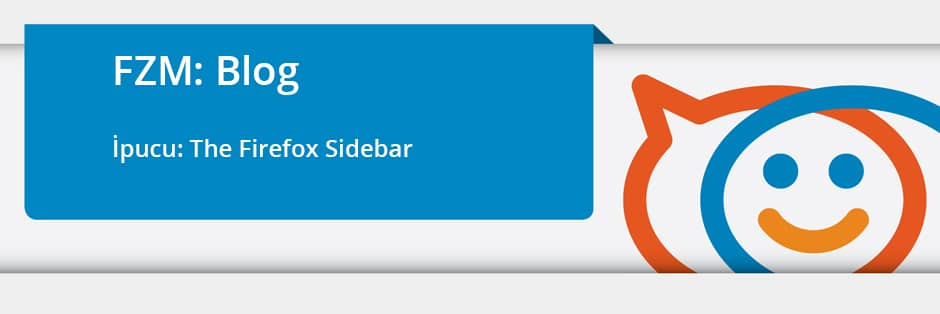 Zimbra İpucu: The Firefox Sidebar